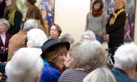 Natascha Ungeheuer, Ausstellungseröffnung