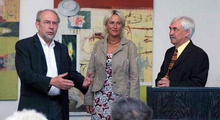 Lothar Bernack, Cora Korte, Dr. Helmut Stelljes