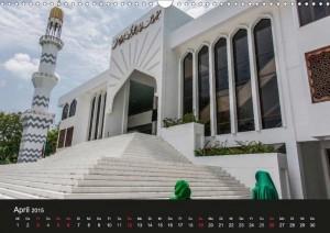 Die Große Moschee in Malé