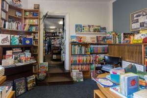 Die heutige Bücherstube ist der Ursprung des Firmengebäudes