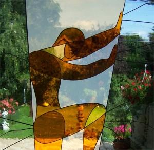 Eines der herausragenden Objekte von Kayser-Glaskunst