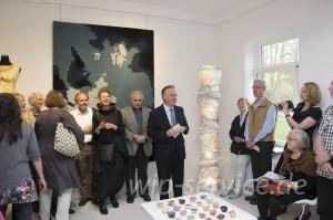 Eröffnung durch Bürgermeister Schwenke und den Gastredner Narciss Goebbel