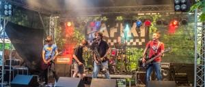 Ska und Punk und richtig gute Texte boten Rafiki aus Oberfranken