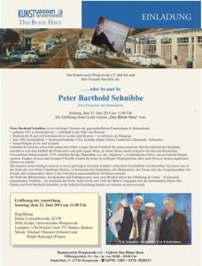 Einladung zum zweiten Teil der Doppelausstellung